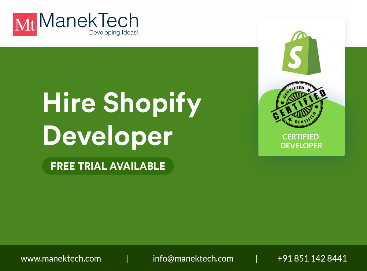 Hire Dedicated Certified Shopify Developers